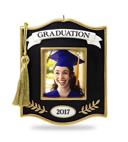 Congrats, Grad! 2017 Photo Holder Ornament - Ria's Hallmark & Jewelry Boutique