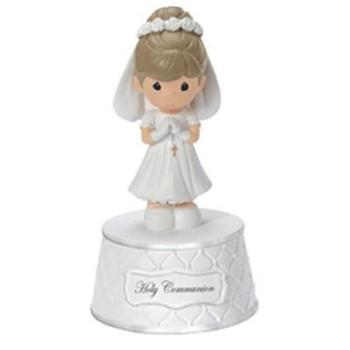 Precious Moments Holy Communion Musical Girl - Ria's Hallmark & Jewelry Boutique