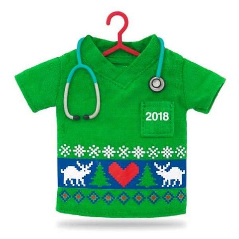 Happy Holiday Scrubs 2018 Ornament - Ria's Hallmark & Jewelry Boutique