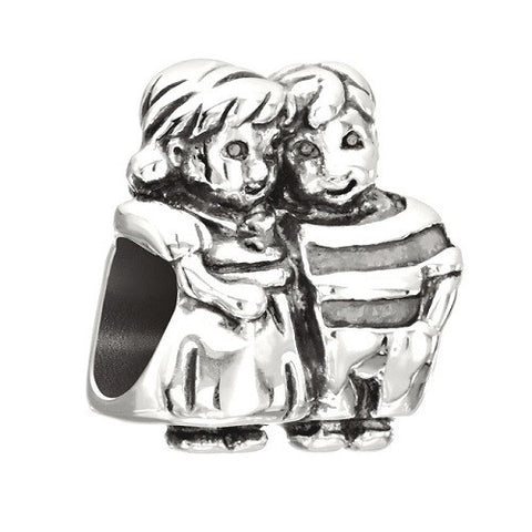 CHAMILIA Brother & Sister - Figurine Charm - Ria's Hallmark & Jewelry Boutique