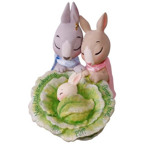 Little Somebunny New Parents Ornament - Ria's Hallmark & Jewelry Boutique