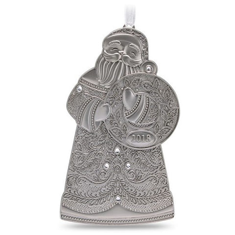 Saint Nick 2018 Metal Ornament