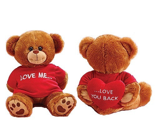 Plush Love Me Bear - Ria's Hallmark & Jewelry Boutique