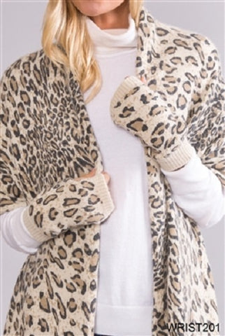 Simply Noelle On The Wild Side Wrist Warmers