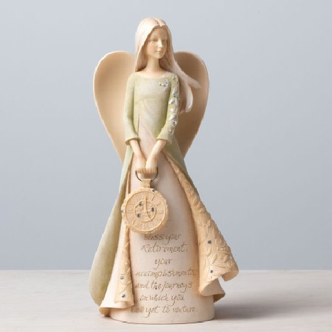 Retirement Angel Figurine