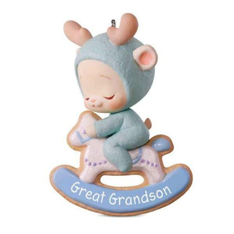Great Grandson Bunny Ornament