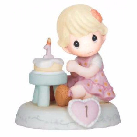 Precious Moments Growing In Grace Age 1 Blonde - Ria's Hallmark & Jewelry Boutique