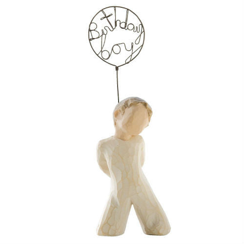 Willow Tree Birthday Boy Figurine - Ria's Hallmark & Jewelry Boutique