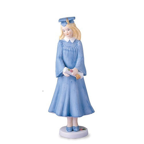 Growing Up Girls Blonde Graduation Figurine - Ria's Hallmark & Jewelry Boutique