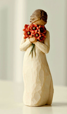 Willow Tree Surrounded by Love Figurine - Ria's Hallmark & Jewelry Boutique