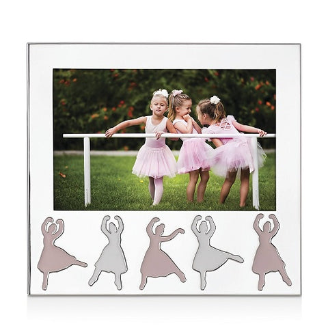 "Silverplated Ballerina 5"" x 7"" Frame by Reed & Barton"