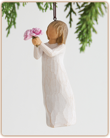 Willow Tree® Thank You Ornament - Ria's Hallmark & Jewelry Boutique