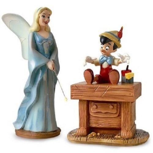 WDCC Pinocchio Blue Fairy And Pinocchio (Set Of 2)