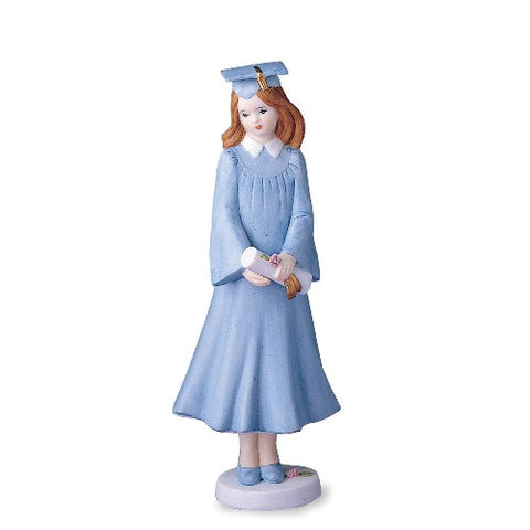 Growing Up Girls Brunette Graduation Figurine - Ria's Hallmark & Jewelry Boutique