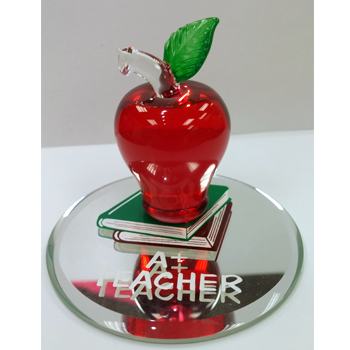 Glass Baron A+ Teacher Figurine - Ria's Hallmark & Jewelry Boutique