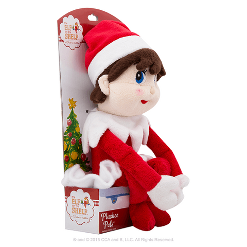 The Elf on the Shelf Plushee Pals Girl Elf - Ria's Hallmark & Jewelry Boutique