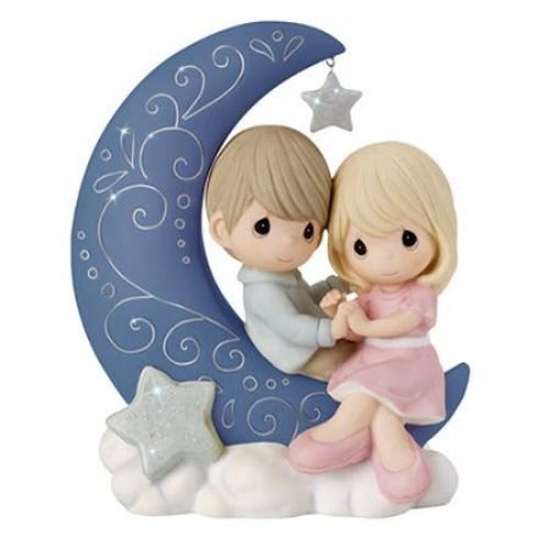 Precious Moments I Love You To The Moon And Back - Ria's Hallmark & Jewelry Boutique