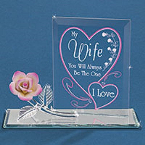 "Glass Baron Wife ""One I Love"" - Ria's Hallmark & Jewelry Boutique"