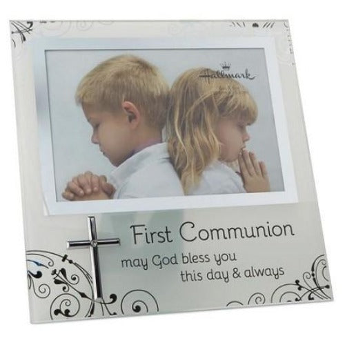 First Communion 4x6 Malden Frame - Ria's Hallmark & Jewelry Boutique - 1