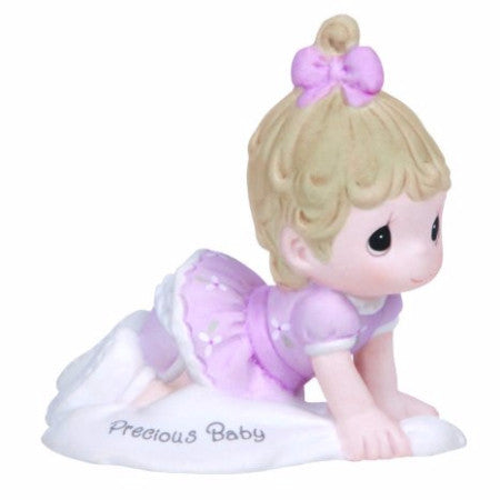 Precious Moments Growing In Grace Precious Baby Brunette - Ria's Hallmark & Jewelry Boutique