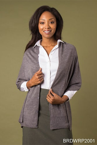 Simply Noelle Bordeaux Wrap Neutral