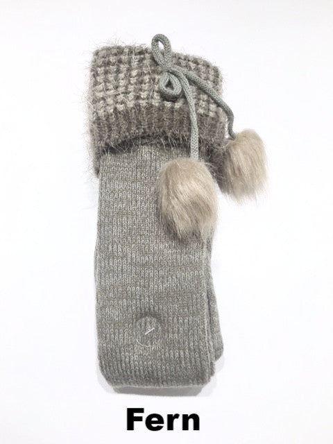 WB Baby Bum Boot Sock With Fur Asst - Ria's Hallmark & Jewelry Boutique - 3