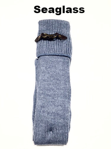 WB Tall Heathered Buckle Sock - Ria's Hallmark & Jewelry Boutique - 8