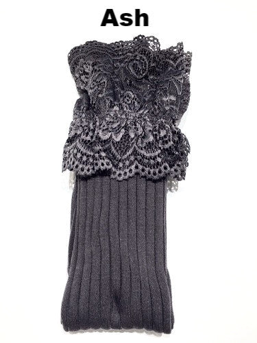 WB Tall Lace Sock - Ria's Hallmark & Jewelry Boutique - 2