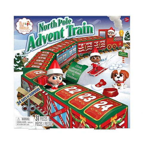 The Elf on the Shelf® North Pole Advent Train Advent Countdown