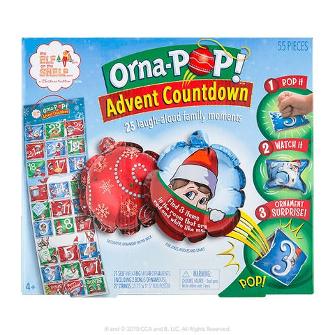 The Elf on the Shelf® Orna-POP! ™ Advent Countdown