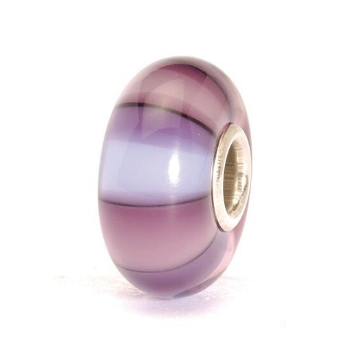 Trollbeads Purple Stripes Bead