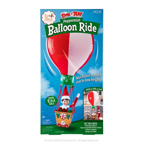 Scout Elves at Play® Peppermint Balloon Ride