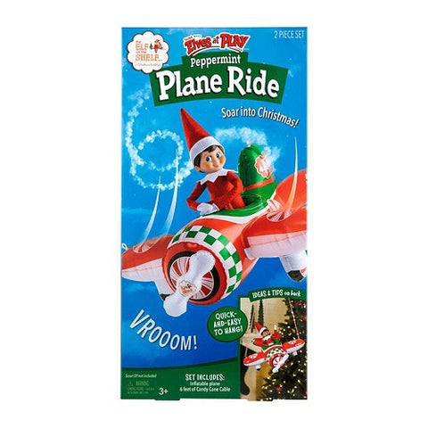 Scout Elves At Play Peppermint Plane Ride