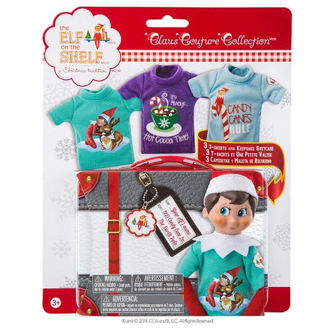 The Elf on the Shelf Claus Couture Sweet Tees Multi-pack Set