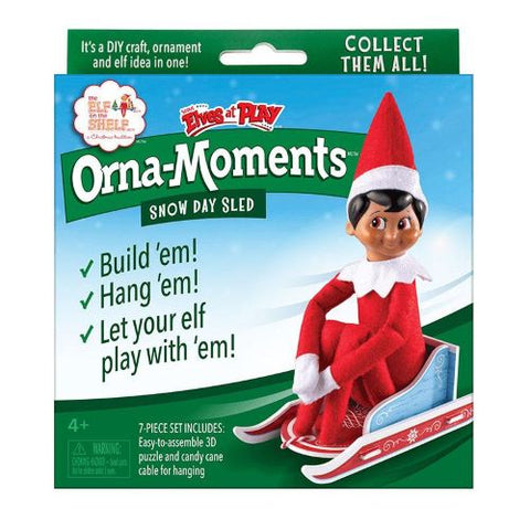 Orna-Moments® Snow Day Sled