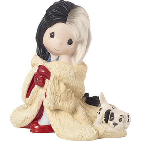 "Disney Cruella De Vil Figurine ""You're Such A Dahling"" Porcelain"
