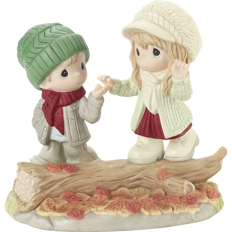 Precious Moments Walk With Me Through Life Figurine