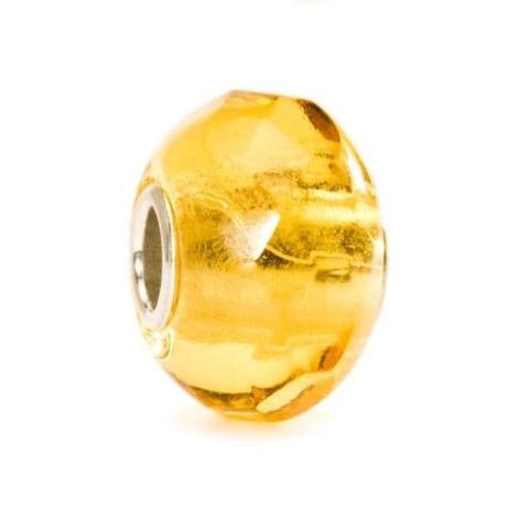 Trollbeads Yellow Prism Bead