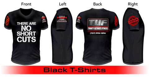 Trinity Ultimate Fitness Short-Sleeve T-Shirt - There Are No Short Cuts