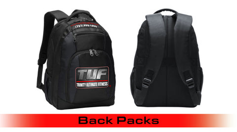 Trinity Ultimate Fitness Black Backback