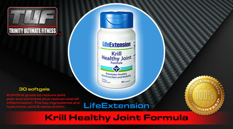 LifeExtension Krill Healthy Joint Formula