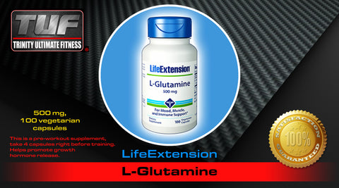 LifeExtension L-Glutamine