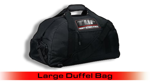 Trinity Ultimate Fitness Large Black Duffel Bag