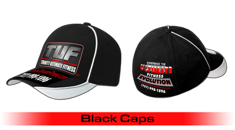 Trinity Ultimate Fitness Black Cap