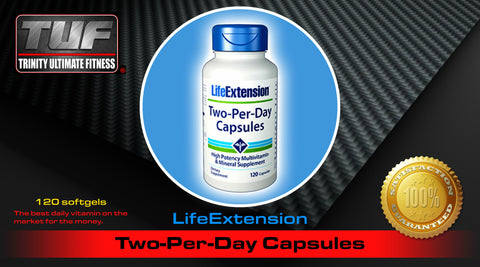 LifeExtension Two-Per-Day Capsules