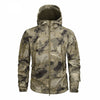 Men's Military Camouflage Fleece Jacket Tactical Clothing