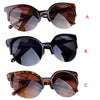 CharmDemon 2017 Fashion Vintage Sunglasses Retro Cat Eye Semi-Rim Round Sunglasses for Men Women Sun Glasses jn23