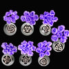 7pcs set russian piping tips /russian tulip nozzles /cake icing piping nozzles set
