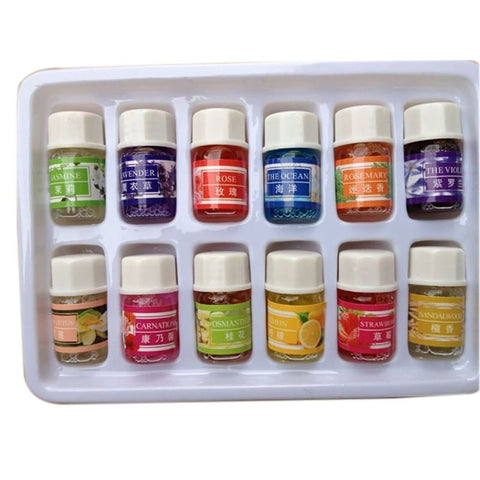 12 Bottles of Essential Oil - Pure And Natural