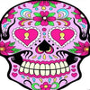 Sugar Skull Wall Tapestry. Free Shipping Today Only!